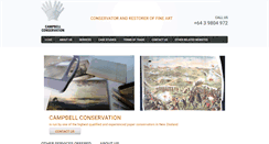 Preview of campbellconservation.co.nz