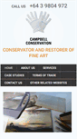Mobile Preview of campbellconservation.co.nz